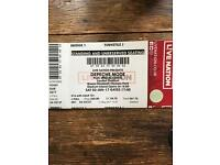 1 ticket for Depeche Mode - London - 3rd June / standing