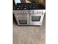 Range gas cooker and electric ovens 110cm tecnik