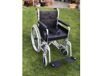 Light weight, fully collapsible wheelchair (sold)