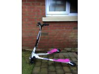 Pink Scooter/Flicker. The Sporter Scooter 1 Good condition