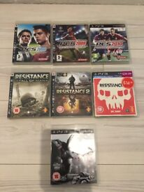 PS3 games but bundle