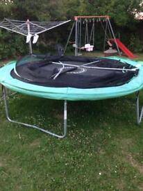 Free 10 ft trampoline