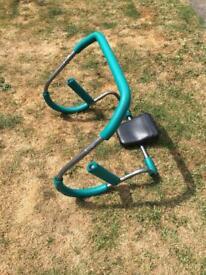 Ab curler machine exercise equipment