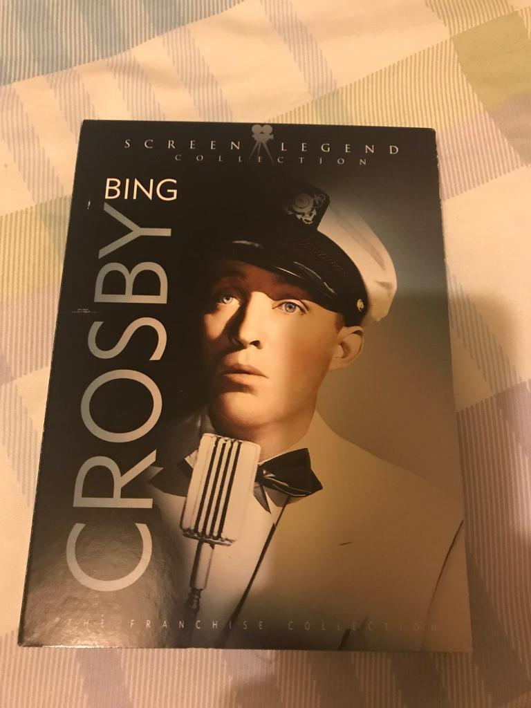 Bing Crosby collection dvd