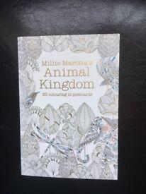 Millie Marotta colouring postcards