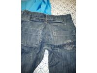 Men's cross hatch jeans 30 waist