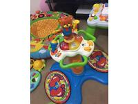 Vtech sit to stand baby tower