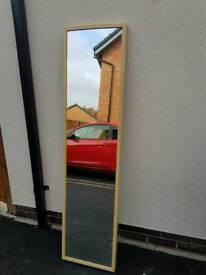 Full length bedroom mirror
