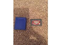 Pokemon blue and ruby nintendo gameboy colour advance