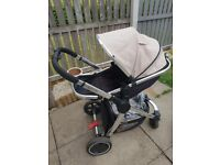Mothercare Pram and Carseat