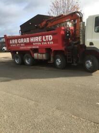 Daf Grab tipper lorry
