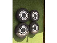 """VW Transporter 16"""" steel wheels"""
