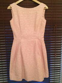 Stunning Zara baby pink dress size M
