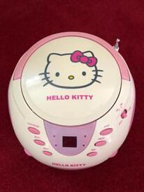 Hello Kitty CD Player / Boombox