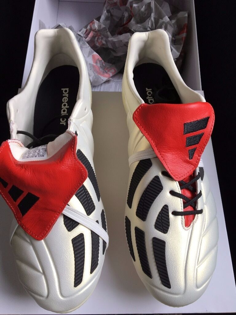 458a650df2e5 cheapest adidas predator mania champagne uk size 9 bnib david beckham  limited edition a37be 00eec