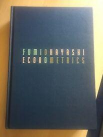 Econometrics, Fumio Hayashi