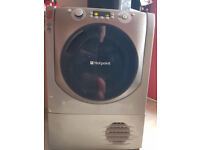 HOTPOINT Aqualtis AQC9 BF7E1 Condenser Tumble Dryer - Grey