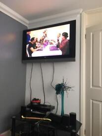 LG 42 inch wall TV