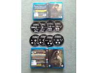 The Hobbit Unexpected Journey & Desolation of Smaug - 2&3D version Blurays (8 disks)