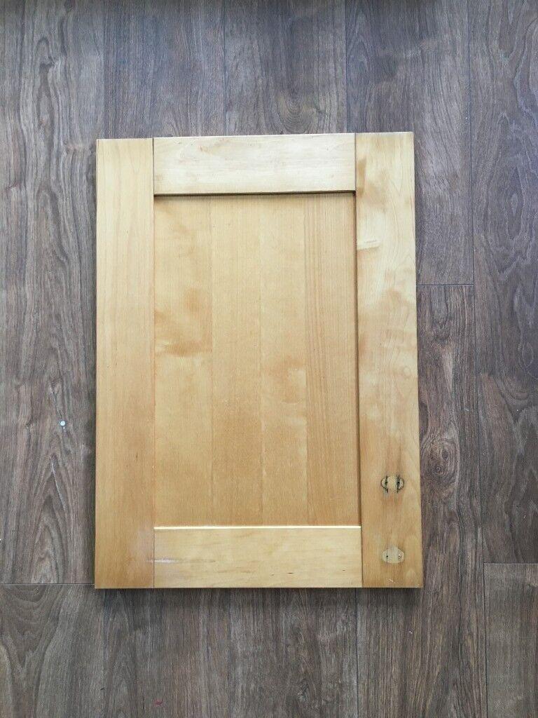 Rvs Wandplank Ikea.Ikea Solid Wooden Kitchen Doors Adel Birch Job Lot Of 36 Door