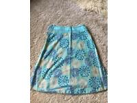 White stuff reversible skirt
