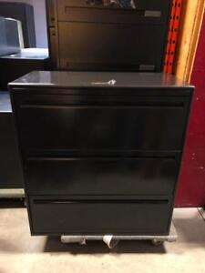"Haworth 3 Drawer Lateral Filing Cabinet - 36""W - $250"