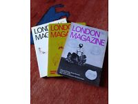 33 copies of the London Magazine from late 70s/early 80s (ex club library)
