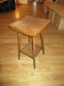 Authenticly old and wonderful patina occasional table