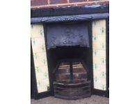 Lovely very old fire place