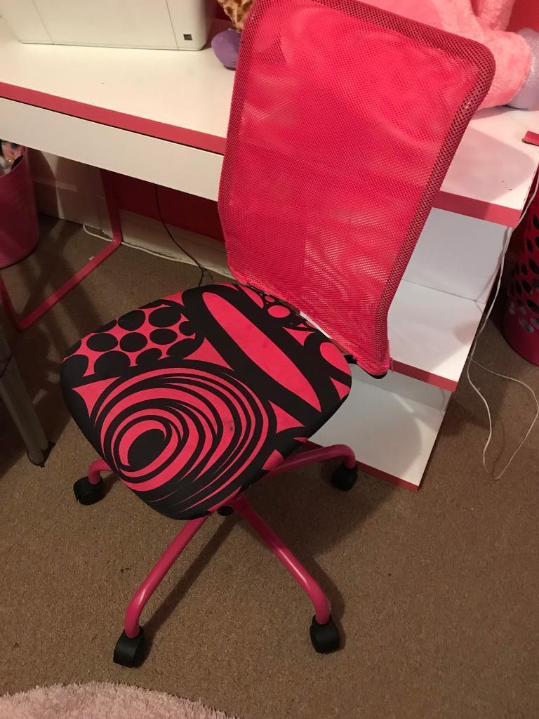 Girls/teen desk chair ikea