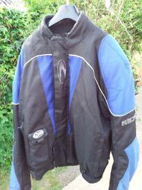Richa Armoured Blue & Black Bike Jacket - 4XL / 54 inch chest