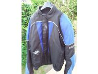 Richa Armoured Blue & Black Bike Jacket - 4XL / 54 inch chest