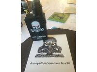 armageddon squonker box kit used