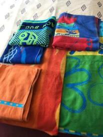 Assortment of Beach Towels