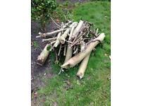 Fire wood log burner FREE