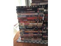 Bundle of 25 dvds