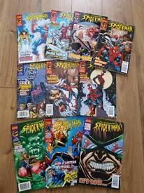 Marvel collectors edition Spiderman comics