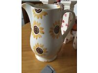 Emma Bridgewater 2013 Waitrose sunflower jug
