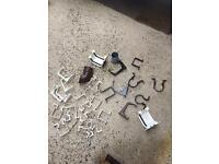 Selection of gutter an down pipe fittings