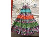 Girls maxi dress from Monsoon age 8