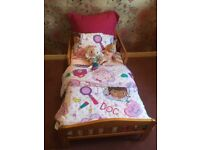 Toddler Bed and Bedding