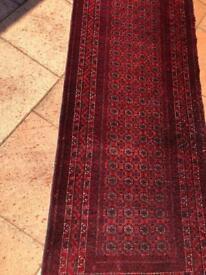 Traditional Afghani hallway rugs