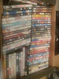 Over 150 dvds joblot