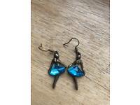 Ballerina earrings unboxed