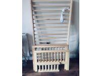 Wooden toddler bed