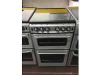 Silver new home 50cm gas cooker grill & oven good condition with guarantee