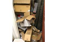 Free cardboard boxes - cardboard and soft packaging bubble wrap etc