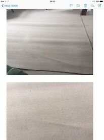 Brand New Small Cream Carpet - Never Used - Ideal for Small Room like Bathroom