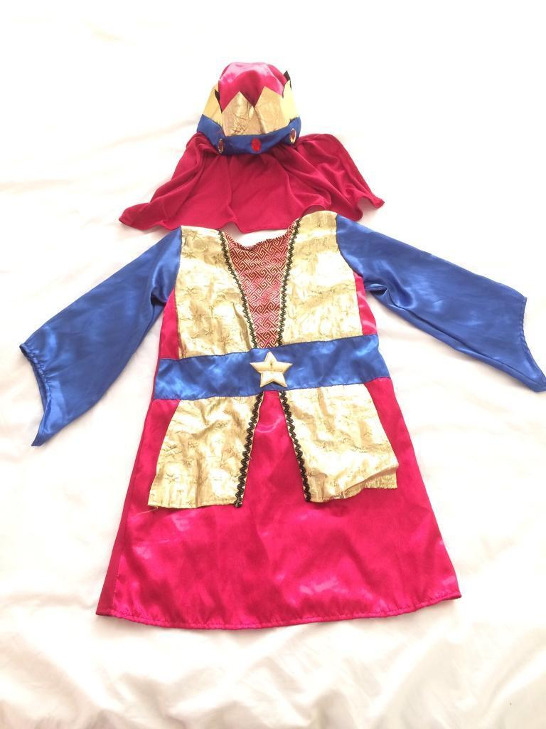 King costume age 3-5