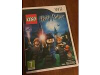 Harry Potter years 1-4 (Wii game)